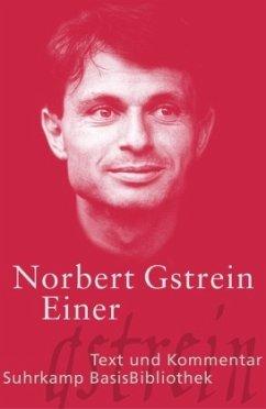 Einer - Gstrein, Norbert