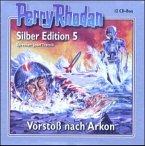 Vorstoß nach Arkon / Perry Rhodan Silberedition Bd.5 (12 Audio-CDs)