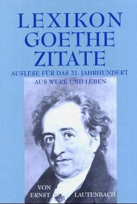 Lexikon Goethe Zitate