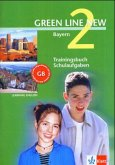 Green Line New 2. Trainingsbuch Schulaufgaben. Bayern, m. Audio-CD