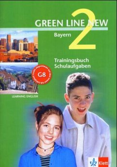Green Line New 2. Trainingsbuch Schulaufgaben. Bayern, m. Audio-CD Bd.2