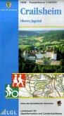 Topographische Freizeitkarte Baden-Württemberg Crailsheim, Oberes Jagsttal
