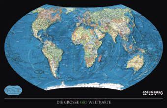 Die grosse GEO Weltkarte, Plano