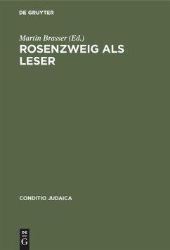 Rosenzweig als Leser - Brasser, Martin (Hrsg.)