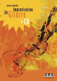 Improvisation für Gitarre, m. Audio-CD