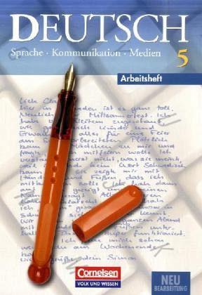 deutsch sprache kommunikation medien 5 arbeitsheft