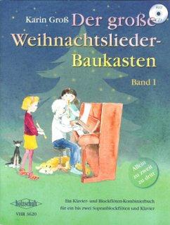 Der große Weihnachtsliederbaukasten, m. Audio-CD. Bd.1