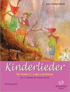 Kinderlieder für Violine und Klavier - Terzibaschitsch, Anne