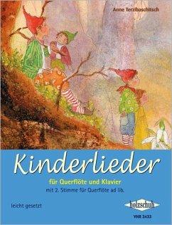 Kinderlieder für Querflöte und Klavier - Terzibaschitsch, Anne