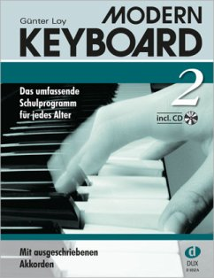 Modern Keyboard, Schulprogramm, m. Audio-CD