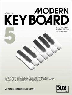 Modern Keyboard, Schulprogramm