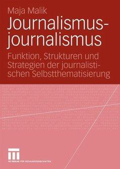 Journalismusjournalismus - Malik, Maja
