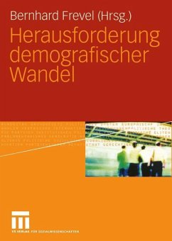 Herausforderung demografischer Wandel - Frevel, Bernhard (Hrsg.)