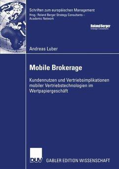 Mobile Brokerage - Luber, Andreas