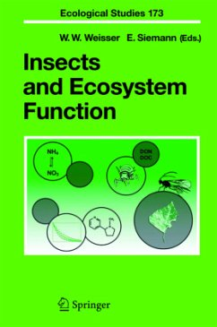 Insects and Ecosystem Function - Weisser, Wolfgang W. / Siemann, Evan (eds.)