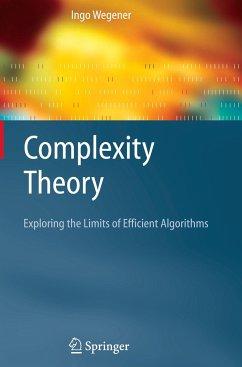Complexity Theory - Wegener, Ingo