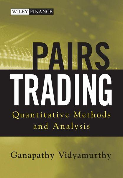 Quantitative analysis trading strategies