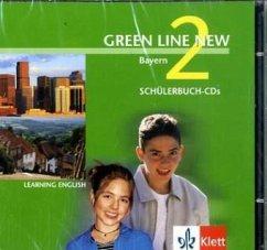 2 Schülerbuch-Audio-CDs, 6. Schuljahr / Green Line New, Ausgabe für Bayern Bd.2