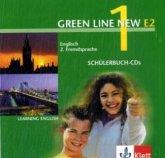 2 Schülerbuch-Audio-CDs, 1. Lernjahr / Green Line New (E2) Bd.1