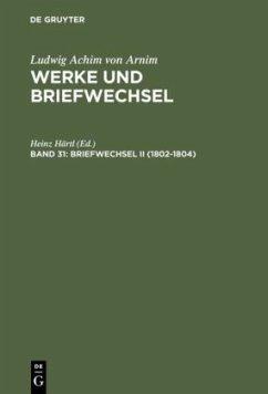 Briefwechsel II (1802-1804)
