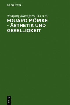 Eduard Mörike - Ästhetik und Geselligkeit