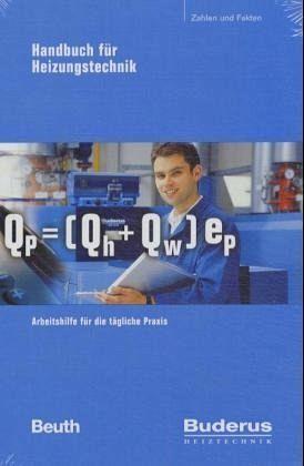 Buderus Handbuch für Heizungstechnik