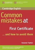 Common Mistakes at First Certificate. Book