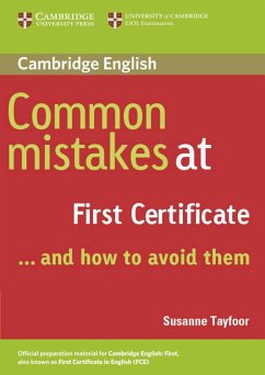 Common Mistakes at First Certificate. Book - Tayfoor, Susanne