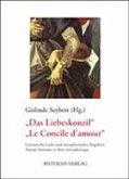 """""""Das Liebeskonzil"""" /""""Le Concile d'amour"""""""