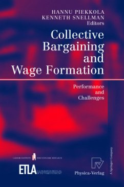 Collective Bargaining and Wage Formation - Piekkola, Hannu / Snellman, Kenneth (eds.)