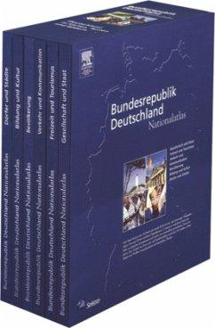 Bundesrepublik Deutschland, Nationalatlas, 6 Bde.