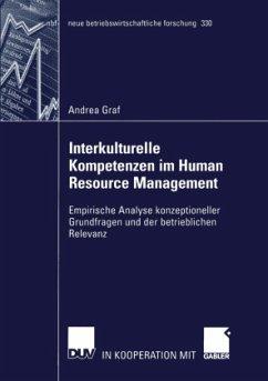 Interkulturelle Kompetenzen im Human Resource Management