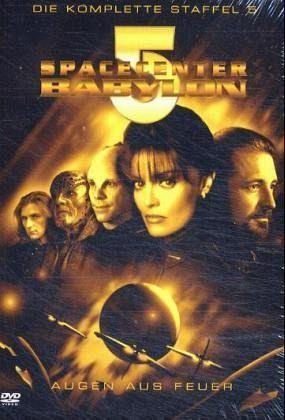 Spacecenter babylon 5 staffel 5 augen aus feuer 6 dvds for Bureau 13 babylon 5