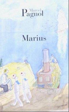 Marius, französische Ausgabe - Pagnol, Marcel