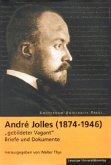 """Andre Jolles (1874 - 1946) - """"gebildeter Vagant"""""""