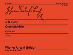 Orgelbüchlein BWV 599-644 - Bach, Johann Sebastian
