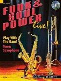 Funk & Soul Power Live, Tenor Saxophone, m. Audio-CD