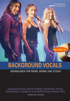 Background Vocals, m. Audio-CD