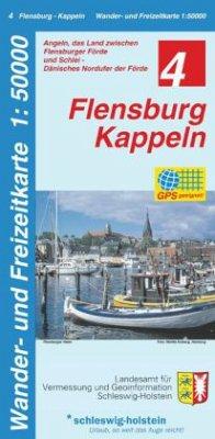 Wander- und Freizeitkarte Flensburg, Kappeln