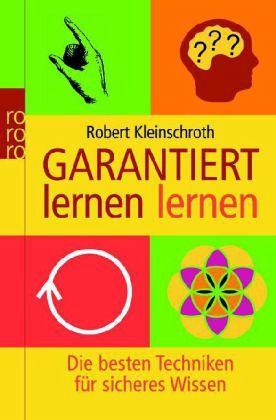 Garantiert lernen lernen - Kleinschroth, Robert