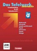 Das große Tafelwerk interaktiv. Schülerbuch mit CD-ROM. Westliche Bundesländer