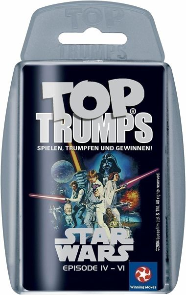 Winning Moves 60178 NEU Top Trumps STAR WARS : EPISODE IV-VI
