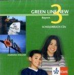 2 Schülerbuch-Audio-CDs, 7. Schuljahr / Green Line New, Ausgabe für Bayern Bd.3