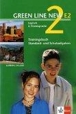 Trainingsbuch Standard- und Schulaufgaben, 7. Schuljahr, m. Audio-CD / Green Line New (E2) Bd.2