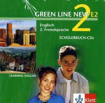 2 sch lerbuch audio cds 2 lernjahr green line new e2. Black Bedroom Furniture Sets. Home Design Ideas
