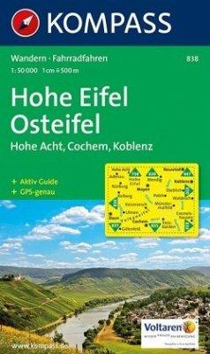 Kompass Karte Hohe Eifel, Osteifel