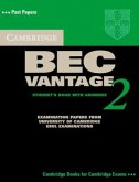 Cambridge BEC Vantage 2. Students Book with answers