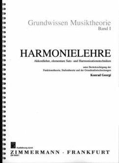 Harmonielehre 1