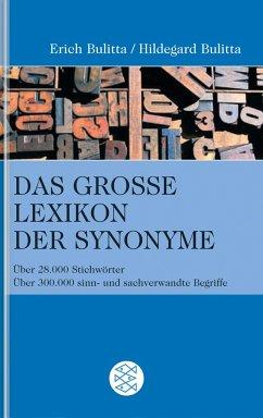 Das große Lexikon der Synonyme - Bulitta, Erich; Bulitta, Hildegard