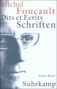 Schriften in vier Bänden - Dits et Ecrits 1 - 4 - Foucault, Michel